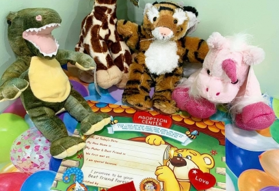 Make a Soft Toy Party Friday/Weekend/School Holiday